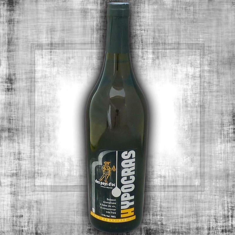 Hypocras blanc 75cl - vin du moyen age