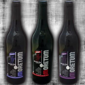 Lot de 3 Moretum : prune, cerise, mûre