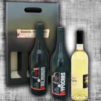 Gift box red Hypocras, mead...