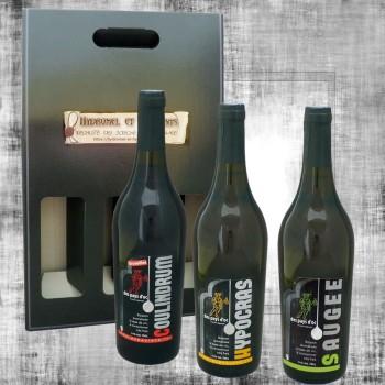 Coffret vin épicé blanc, vin au fruit et vin doux