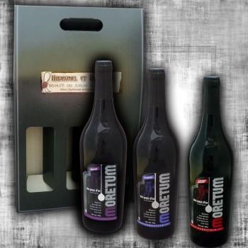 Coffret Cadeau 3 Moretum vin au fruit