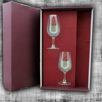 Coffret 2 verres vide
