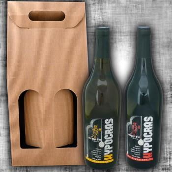 Gift box : 2 hypocras 75cl
