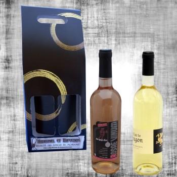 Coffret cadeau Vin de Rose et  Hydromel 75cl